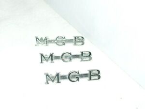 3 M G B Emblems Badge Ornament Mgb Mg Midget Ahh6079 J Fray
