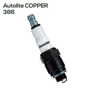 Autolite 386 Copper Core Spark Plug Fits Buick Cadillac Checker Chevy