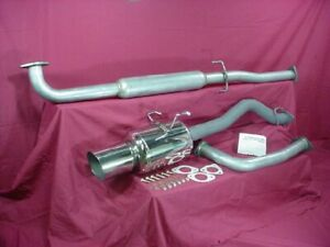 Catback Exhaust Honda Civic Coupe Ex 96 97 98 99 00 Holley