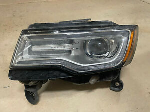 2014 2016 Jeep Grand Cherokee Left Driver Side Hid Xenon Led Headlight All Tabs