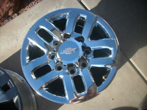 18 Chevy Silverado 2500 3500 Ltz Z71 2015 2019 Factory Chrome Wheel Oem Rim