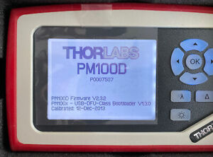 Thorlabs Pm100d Compact Power And Energy Meter Console Digital 4 Lcd