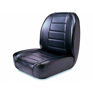 Rugged Ridge For Jeep Cj 1955 1886 Low back Front Seat Non recline Black