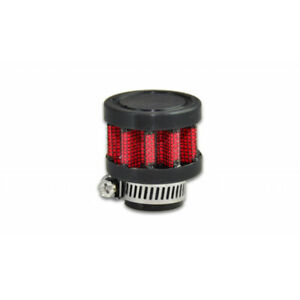 Vibrant For Crankcase Breather Filter 35mm Od 5 8in 15mm Inlet Id 1 5in Tall