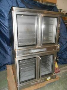 Blodgett Double Stack Convection Oven Ef 111 460v 3 Phase Tested