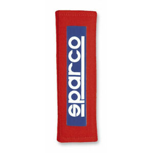 Sparco Belt Pad 3 Inches Red Racing