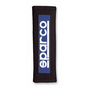 Sparco Belt Pad 3 Inches Black Racing