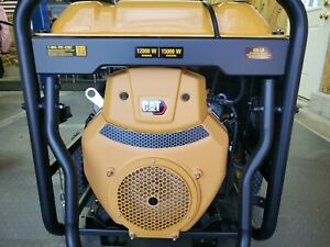 Cat Rp 12000e Electric Start Gasoline Generator