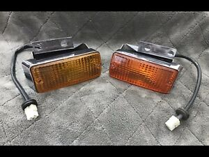 Fiat 850 Spider Front Turn Signals Oe Used 70 73