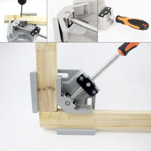 90 Welding Clamp Right Angle Clamp Vise Woodworking Metal Welding Forging Tool