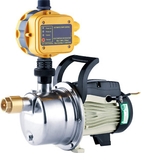 Tdrforce 1 2 Hp Pressure Booster Pump Automatic Water Pump Tankless Shallow Well