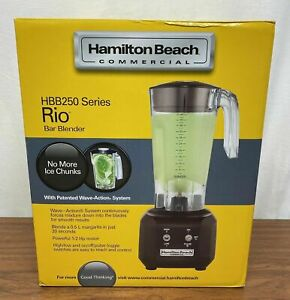 Hamilton Beach Rio Bar Blender Hbb250 ce 1 2 Hp Motor 220v