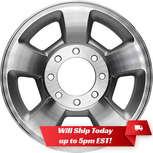 New Machined Silver 17 Alloy Wheel Rim For 2003 2010 Dodge Ram 2500 3500
