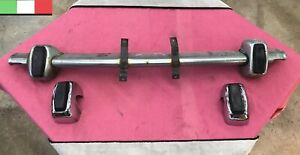 Fiat 850 Spider Front Bumper Center Bar Overriders Oe Used
