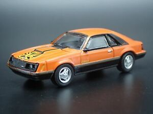1979 79 Ford Mustang Cobra Rare 1 64 Scale Collectible Diorama Diecast Model Car
