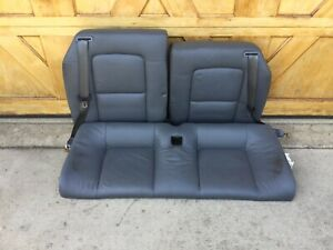 Audi Tt 1999 02 Rear Seat Assembly Grey Leather Good Condition G2254