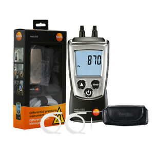 Testo 510 Digital Auto Differential Manometer Air Pressure Meter Gauge 0 100hpa