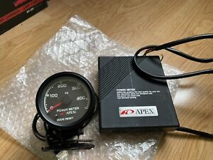 Apexi Power Meter Rare Gauge For Skyline Supra 240sx S13 Sr20 Rb26 1jz Jdm Hks