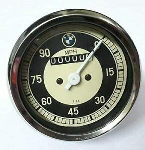 0 90 Mph Speedometer Rare Fits Bmw Motorcycles Fit In R50 2 R60 R60 2 R69 R69sr5