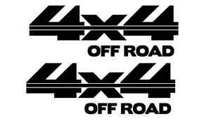 4x4 Off Road Bed Side Decal Stickers Fits Ford Dodge Chevy Gmc