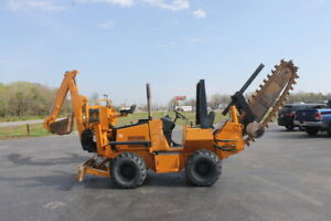 Astec Case Rt660 Trencher 1200 Hrs cummins Power rock Teeth ready To Work