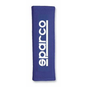 Sparco Belt Pad 3 Inches Blue Racing