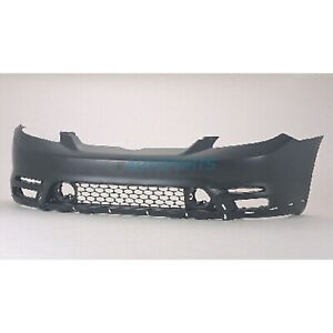 New Front Bumper Cover Fits 2003 2004 Toyota Matrix To1000237