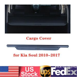 Cargo Cover Security Trunk Shade Shield Shelf Fit For 2010 2017 Kia Soul