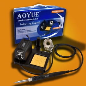 60 Watt Soldering Station With Removable Tip Design Aoyue 469 Ptc Ceramic Heater