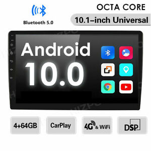 Ips 10 1 Multimedia Android 10 Double 2din Car Radio Stereo Gps Dsp Rds Carplay