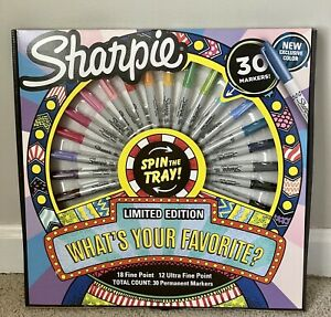 Sharpie 30 Count Set Limited Edition Factory Sealed Brand New