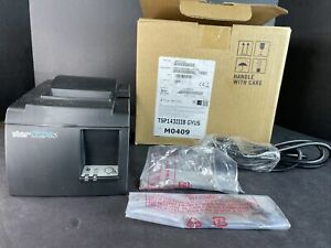 Star Tsp143iiibi Thermal Pos Receipt Printer tsp100 W Bluetooth Power Cord