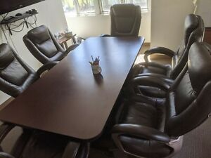 Conference Room Table Chairs 6 X 3