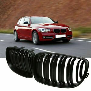 Pair Front Gloss Black Grilles Kidney Grill For Bmw X5 X6 E70 e71 e72 2007 2014