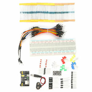 Electronic Components Kit Electronic Component Assortment 830 Tie Points V6e9