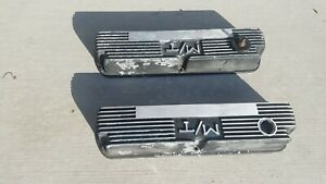 Mickey Thompson Ford Small Block Valve Covers Mt Finned Aluminum