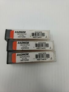 Lot Of 3 Radnor 3 1 101 Victor Style
