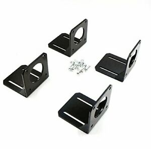 4pcs Nema 23 Stepper Motor Steel Mounting Bracket With Mounting Screws