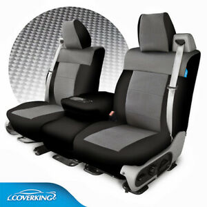 Coverking Neosupreme Carbon Fiber Print Tailored Seat Covers For Ford F150