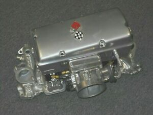 1964 Rochester Corvette Efi Converted Fuel Injection Chrome Powder Coated