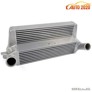 Fit Ford Mustang 2 3l Ecoboost Silver 2015 Front Mount Intercooler Aluminum New