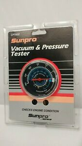 Sunpro Vacuum Pressure Tester Cp7802 Test Engine Condition Ford Chevy Gmc