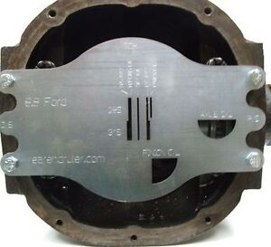 The Rearend Ruler 8 8 Ford Measuring Tool Determine Axle Lengths Easily