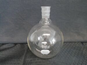 Pyrex Glass 2000ml Single Neck Round Bottom Flask 29 42 Outer Joint