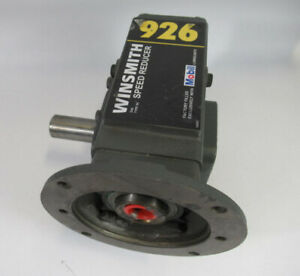 Winsmith Right Angle Speed Reducer 60 1 1193lb in 5hp 1750rpm Used