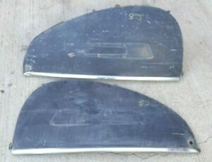 1939 1940 1941 Lincoln Zephyr Rear Fender Skirts Original Pair Accessory