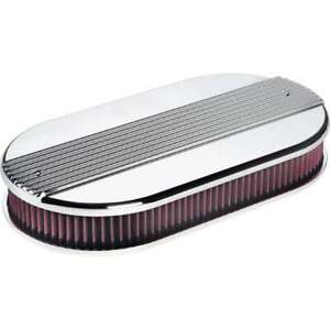 Billet Specialties Dual Quad Ribbed Oval Air Cleaner
