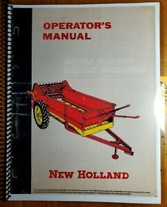New Holland 200 220 Manure Spreader Owner s Operator s Manual 2185 5m 1 57