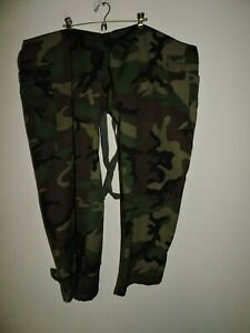 Chemical And Biological Class 1 Xl Men Camouflage Protective Bib Coverall Suit