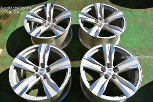20 Chevrolet Camaro Zl1 20 Oem Factory Staggered Wheels 2012 2013 2014 2015